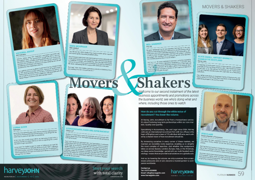 Movers & Shakers June 2019