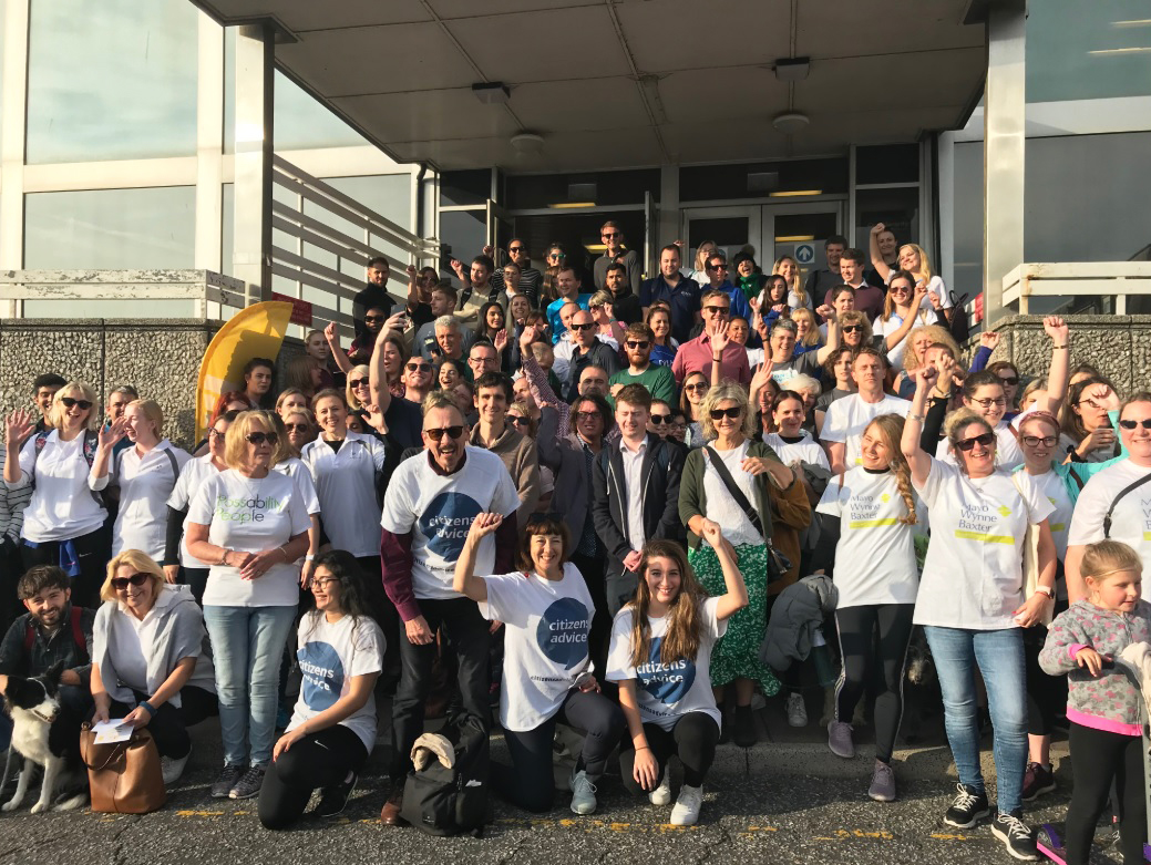 Harvey John take part in the Brighton Legal Walk 2019