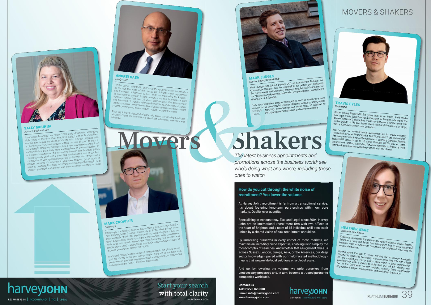 Movers & Shakers February 2020