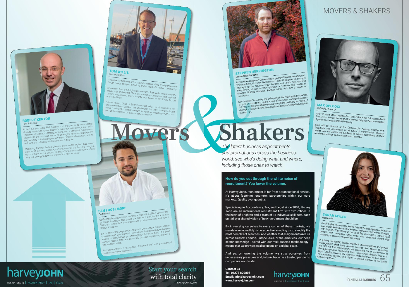 Movers & Shakers January 2020