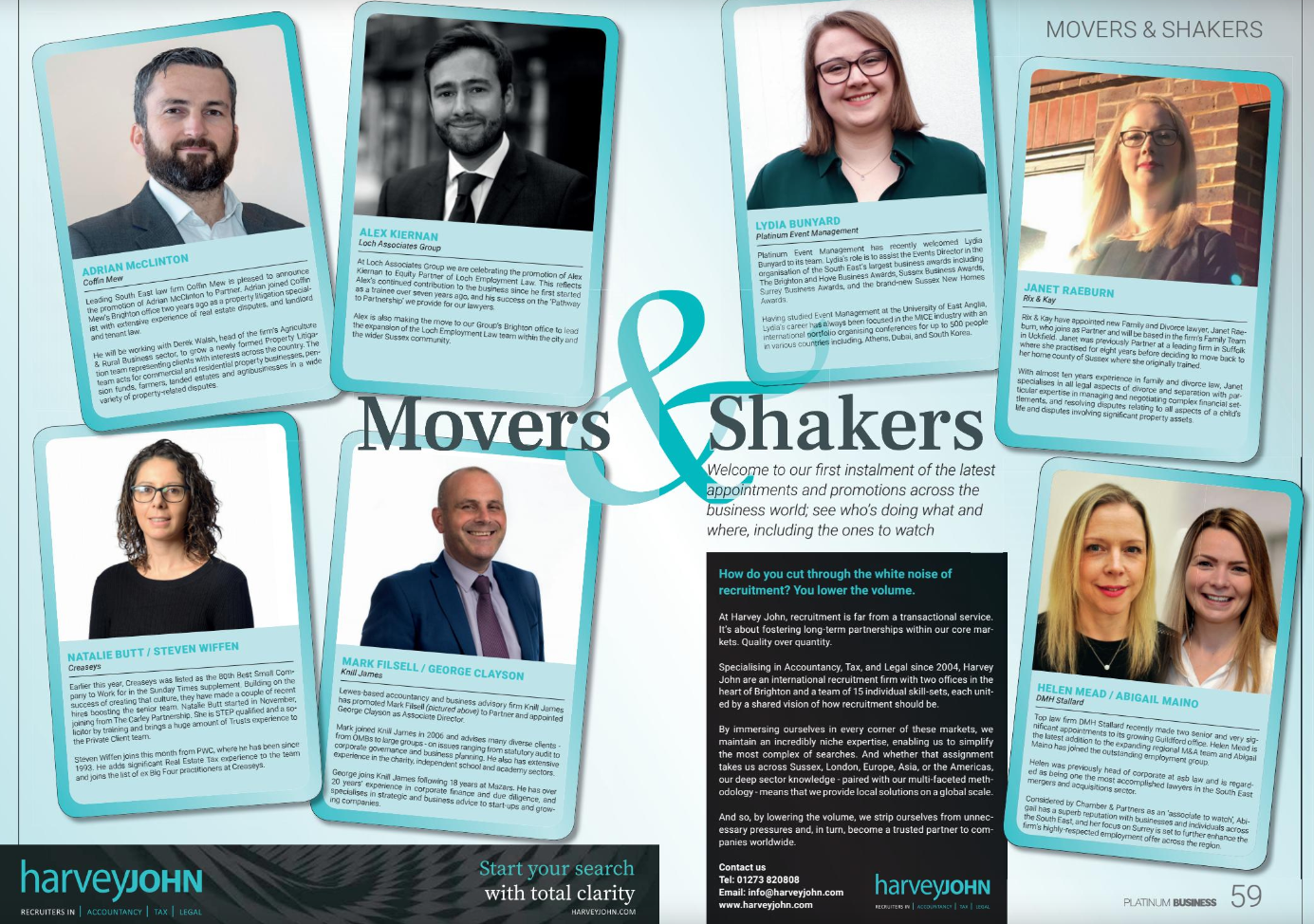 Movers & Shakers May 2019