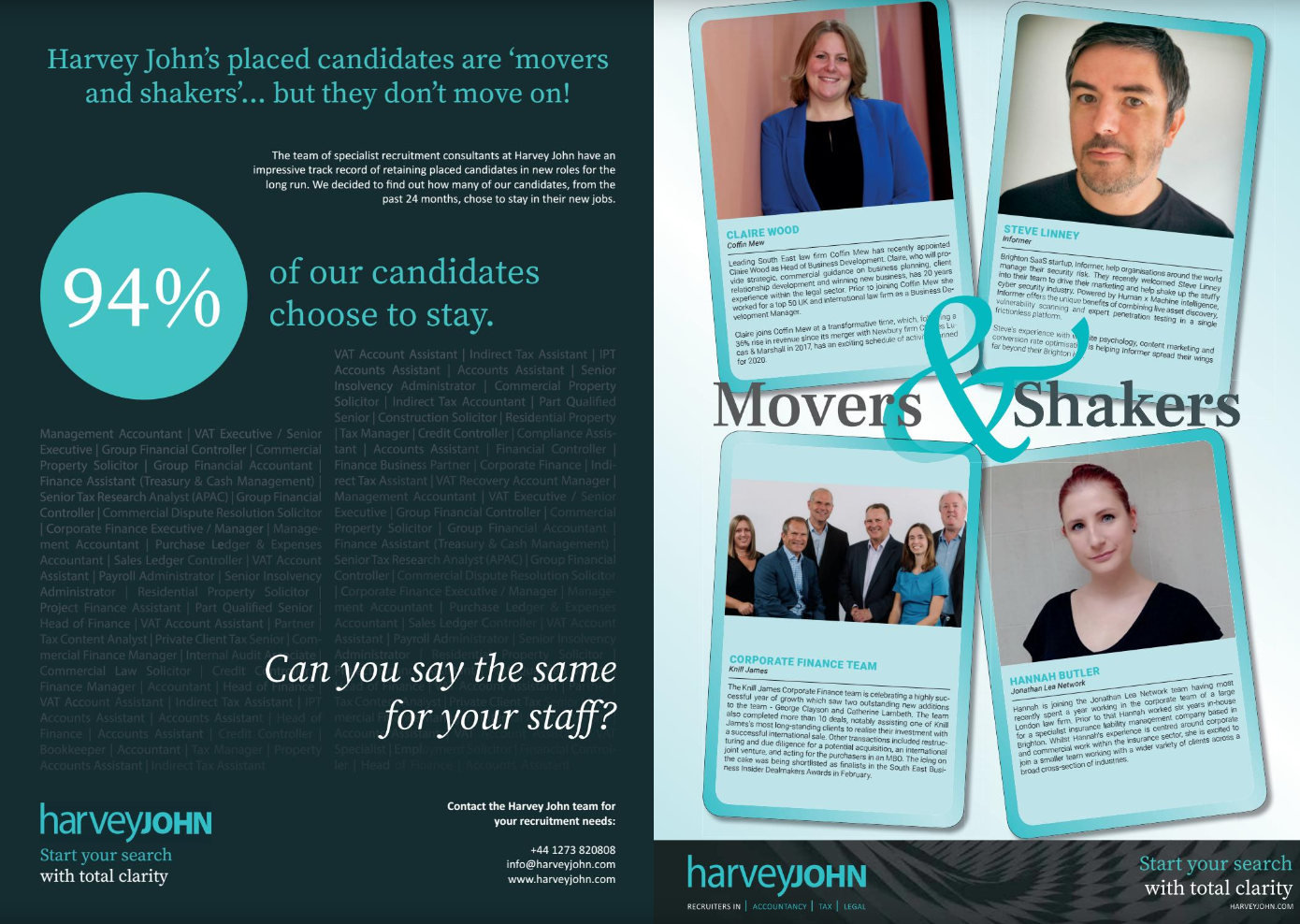 Movers & Shakers April 2020